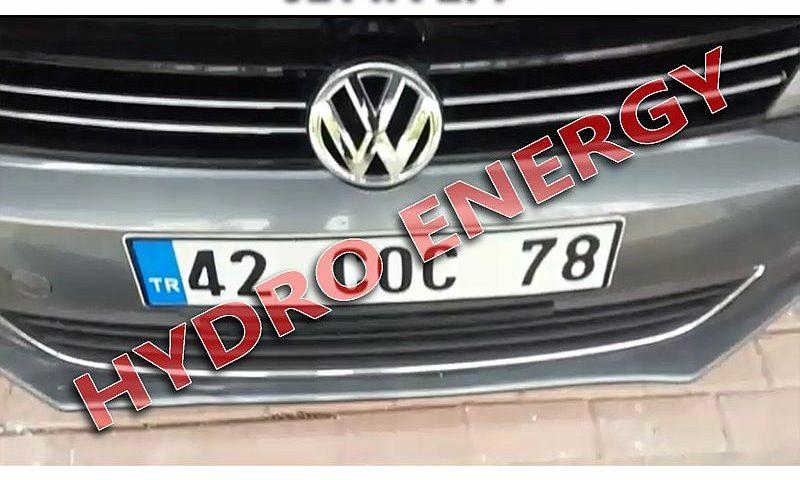 VW jetta hidrojen yakıt tasarruf cihazı